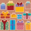 Stock Vector: Image with gift theme 2
