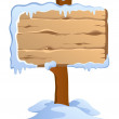 Winter labels theme image 4 — Stock Vector
