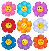 Flower theme image 4 — Stock Vector