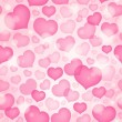 Seamless background with hearts 9 — Stock Vector
