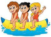 Immagine di tema sport acqua 5 — Vettoriale Stock
