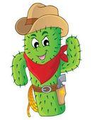 Cactus theme image 3 — Stock Vector