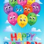 Balloons theme image 6 — Stock Vector