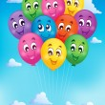 Balloons theme image 7 — Stock Vector