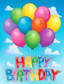Balloons theme image 3 — Stock Vector