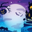 Halloween topic background 3 — Stock Vector #30045111