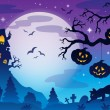 Halloween theme image 9 — Stock Vector