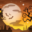 Halloween topic background 2 — Stock Vector #30045541