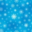 Seamless background snowflakes 1 — Stock Vector #30599267