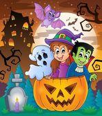 Halloween character image 5 — Stock Vector