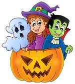 Halloween character image 4 — Stock Vector