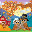 Thanksgiving thema afbeelding 4 — Stockvector  #32438633