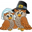 Thanksgiving thema afbeelding 3 — Stockvector