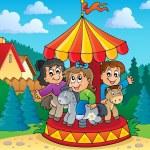 Carousel theme image 2 — Stock Vector #33499753