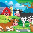 Farm animals theme image 8 — Stock Vector