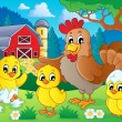Farm animals theme image 7 — Image vectorielle