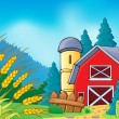 Stock Vector: Farm theme image 9