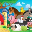 Stock Vector: Farm animals topic image 3