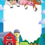 Farm theme frame 4 — Stock Vector #33500347