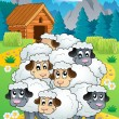 Sheep theme image 4 — Stock Vector