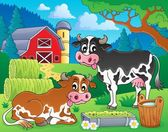 Farm animals theme image 8 — Stock Vector