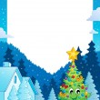 Christmas topic frame 7 — Stock Vector #34826063