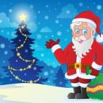 Santa Claus theme image 4 — Stock Vector