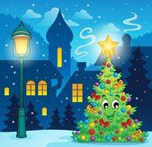 Christmas decoration theme 3 — Stock Vector