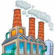 Factory theme image 1 — Stock Vector