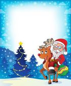 Santa Claus theme image 5 — Stock Vector