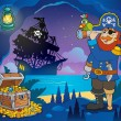 Pirate cove theme image 3 — Stok Vektör #38858857