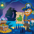 Pirate cove theme image 4 — Stok Vektör #38858925