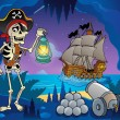 Pirate cove theme image 6 — Stok Vektör #38858973
