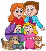 Family theme image 3 — Vetorial Stock