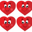 Valentine hearts thematic set 1 — Wektor stockowy  #40210401
