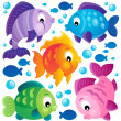 Fish theme collection 2 — Stock Vector #47361945