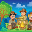 Children scouts theme image 2 — Stock Vector #47363429