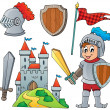 Knight theme collection 1 — Stock Vector #47365463
