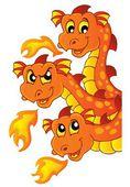 Dragon topic image 3 — Stock Vector