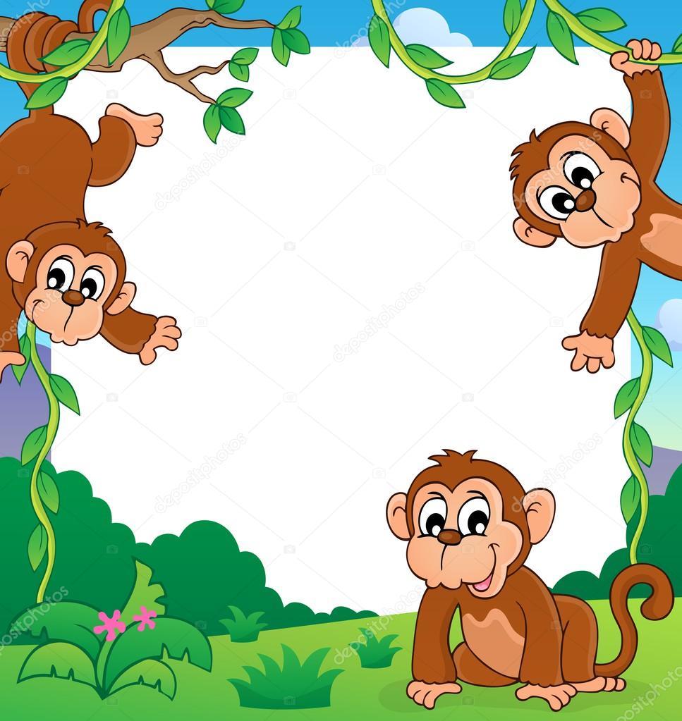 猴子专题第 1 帧— 图库矢量图像08