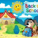 Back to school thematic image 5 — Stok Vektör