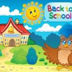 Back to school thematic image 6 — Stok Vektör