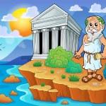 Greek theme image 2 — Stock Vector #51634065