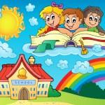 School kids theme image 8 — Stock Vector #51634561