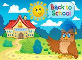 Back to school thematic image 6 — Stock Vector