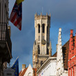 Belfry tower in Bruges, Belgium — Stock Photo