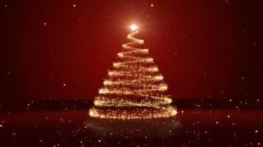 Christmas tree — Stock Video