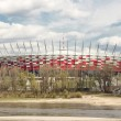Sights of Poland. National Stadium in Warsaw. — Stock Photo