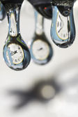 Drops of time. — Stock Photo
