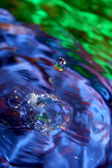 Rainbow water. — Stock Photo